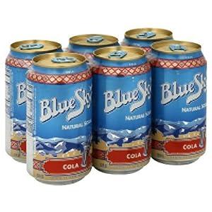 Blue Sky Beverage Natural Cola Soda, 354 Milliliter -- 4 per case.