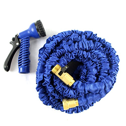 Garden-Hose-Flexible-3-4-Inch-Kink-Free-Expandable-Hose-2016-With-Brass-Fittings-Spray-Gun-For-Pressure-Washer