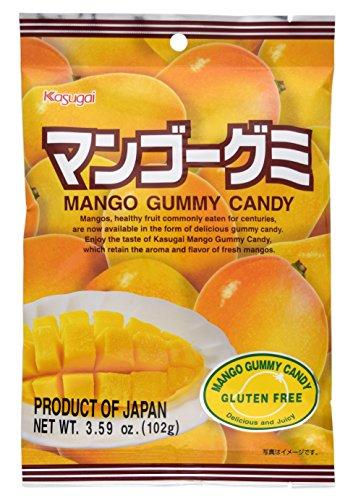 Kasugai Mango Gummy Candy 3.59oz