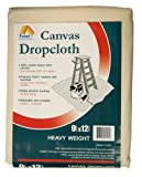 Paint Essentials 9-Feet x 12-Feet Canvas Drop Cloth HW912