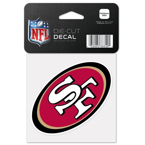 San Francisco 49ers NFL Die Cut Decal at Amazon.com
