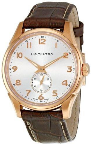 Hamilton Jazzmaster Thinline Rose Gold PVD Mens Watch H38441553