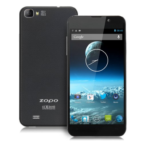 ZOPO ZP980 - 5.0 Inch FHD (1980 x 1080px) 1080P Screen Android 4.2 Smartphone quad core 1.5GHz MTK6589T 2GB RAM... Black Friday & Cyber Monday 2014