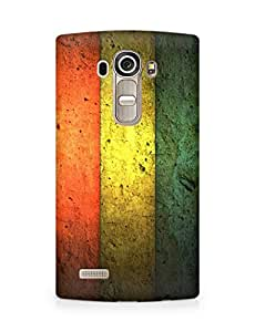 Amez designer printed 3d premium high quality back case cover for LG G4 (Five Color Wall)
