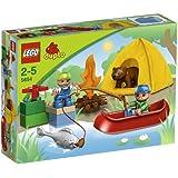 Amazon Com Lego Duplo 174 Legoville Caravan 5655 Toys Amp Games