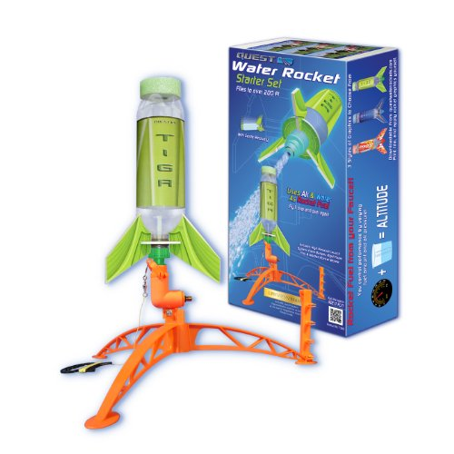 Quest Aerospace Deluxe Single Water Rocket Set by Quest Aerospace