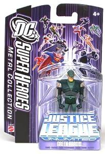 Mattel J2043 DC Super Heroes Green Arrow Justice League Unlimited 7cm Figurine