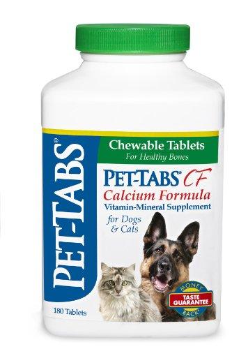 Pet-Tabs Plus CF (Calcium Formula), 180 ct.