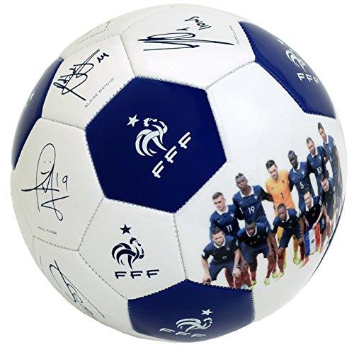 nuances de très loué  Ballon De Football Fff - Signatures - Collection Officielle Equipe De  France - Taille 5