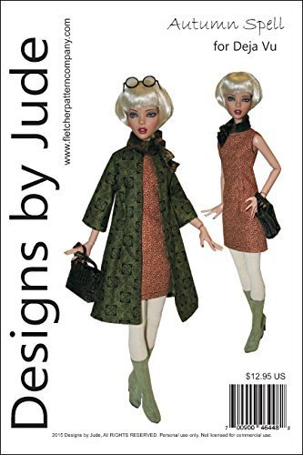 "Starlight Doll Clothes Sewing Pattern for 15.75/"" City Girl DollsTonner"