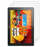 3x kwmobile® screen protector for Huawei MediaPad 10 FHD CRYSTAL CLEAR - premium quality