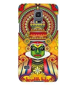 ColourCraft Incredible india Design Back Case Cover for SAMSUNG GALAXY S5 MINI