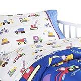 Olive Kids Under Construction Toddler Comforter Bed Set