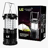 LE LED Camping Laterne zusammenklappbar haltbar 30 LEDs