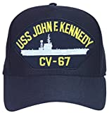 USS John F. Kennedy CV-67 Ship Ball Cap