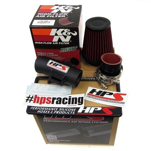 HPS Red Shortram Cool Air Intake Kit+K/&N Filter For Honda 09-13 Fit//Jazz 1.5L