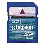 Kingston 2 GB SD Flash Memory Card SD/2GBby Kingston