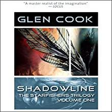Shadowline: Starfishers, Book 1 (       UNABRIDGED) by Glen Cook Narrated by Oliver Wyman