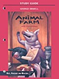 Animal Farm with Connections (HRW Library Study Guides) (0030554179) by Orwell, George