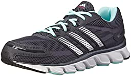adidas Performance Women\'s Powerblaze W Running Shoe, Night Grey/Silver, 9 M US