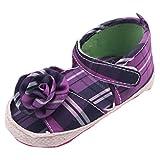 EOZY Zapatos Para Beb� Ni�as Patr�n Cuadr�cula Violeta Primero Paso Andar Oto�o Pirmavera Longitud 11cm