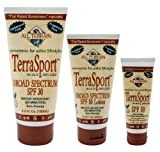 All Terrain Terra-Sport SPF-30 Oxybenzone-Free Natural Sunscreen Lotion, 6-Ounce