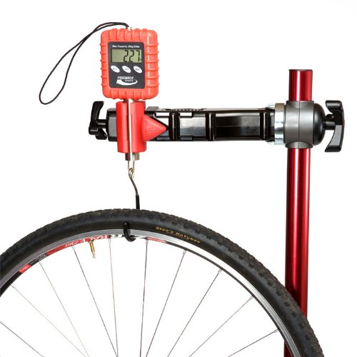Feedback Sports Alpine Digital Bicycle/Backpacking/Gear Scale (Red, 25-Kilogram) (japan import)