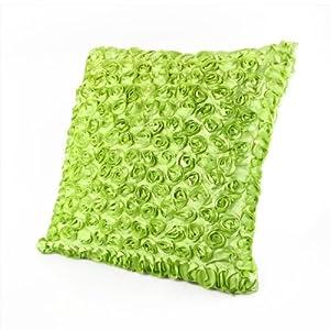 Copricuscino federa di cuscino arredo verde cm 40x40 for Amazon cuscini arredo