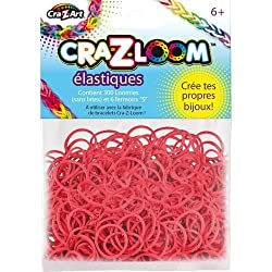 Cra-Z-Loom Rubber Band Basic Colors Refill - Bright red