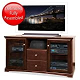 Kathy Ireland Home by Martin Furniture Park View Wood Plasma TV Stand in Ci ....