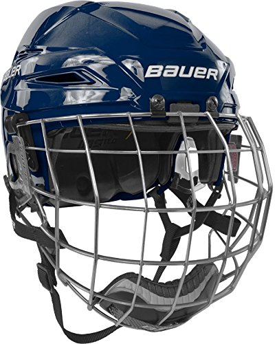 Bauer-IMS-110-Hockey-Helmet-wCage-Large-Navy-Navy