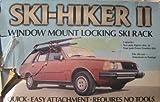 Ski-Hiker 2 Window Mount Locking Ski Rack