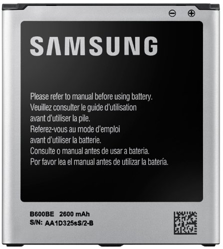 Samsung B600BE Batteria Originale agli Ioni di Litio per Galaxy S4, 3.8 V, 2600 mAh