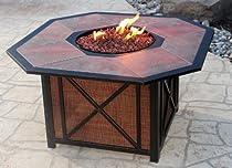 Hot Sale Taris Outdoor Patio Fire Pit Porcelain Tile Table Top