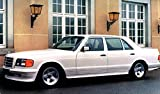 1987 Mercedes Benz AMG 500SEL W126 Automobile Photo Poster