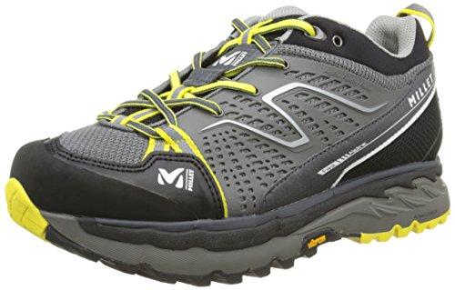 MILLETFast Alpine - Scarpe Running Uomo, Grigio (Charcoal/Limeade), 45 1/3