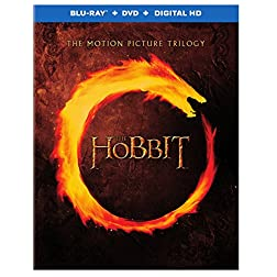 The Hobbit: Motion Picture Blu-Ray Trilogy [Blu-ray + DVD + Digital HD]