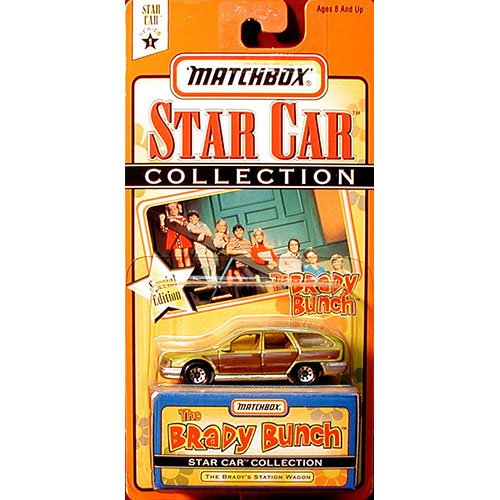 The Brady Bunch Station Wagon From the Star Car Matchbox Collection Special Edition