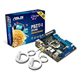 Asus P8Z77-I Deluxe Motherboard (Socket 1155, Intel Z77, DDR3, S-ATA 600, Mini ITX, Dual Intelligent Processors 2 with DIGI+ VRM, USB 3.0 Boost)