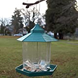 PetsNall Hanging Gazebo Bird Feeder