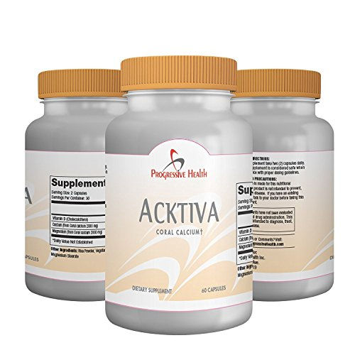 [Acktiva: Coral Calcium Capsules - Supplement Supports Bone Density, Heart Health & Blood Pressure. Contains Over 70 Trace Minerals to Help Maintain Healthy PH Levels. Includes Vitamin D &] (Animal That Starts With J)