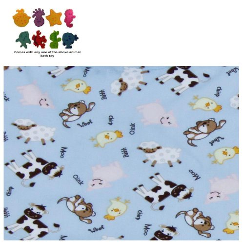 Changing Pad Cover - Baby Barnyard & Purchasecorner Toy Bundle back-80170