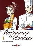 echange, troc Nakanishi Yasuhiro - Le Restaurant du Bonheur : Pack 2 mangas : Volume 1 et 2