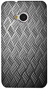 Brilliant 3D multicolor printed protective REBEL mobile back cover for HTC-M7 - D.No-DEZ-2638-m7