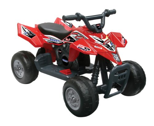 Kid Motorz 6V Quad Racer Ride On, Red