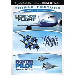 Aerial Thrill Rides Triple Feature (Legends of Flight / Magic of Flight / Fighter Pilot) (IMAX)