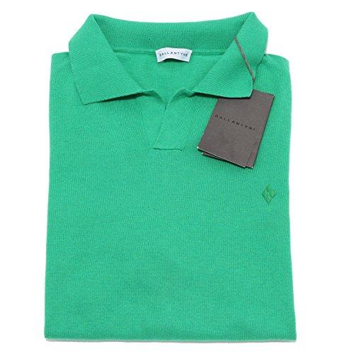 40764 verde polo BALLANTYNE maglia uomo t-shirt men [52]