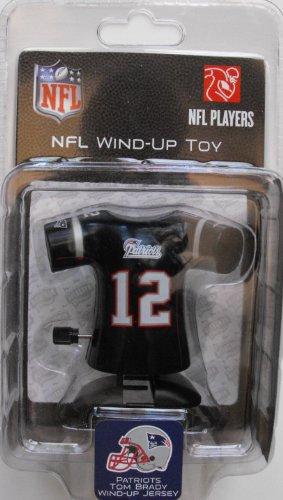 New England Patriots Tom Brady wind-up toy - 1