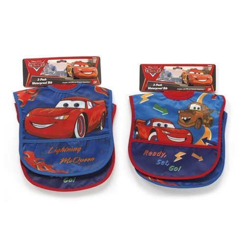 Cars Two Pack Deluxe Vinyl Bib - 1