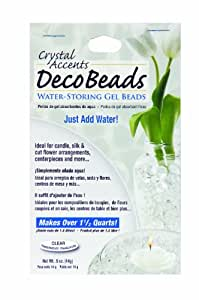 Deco Beads DB-C Clear 1/2-Ounce Packet